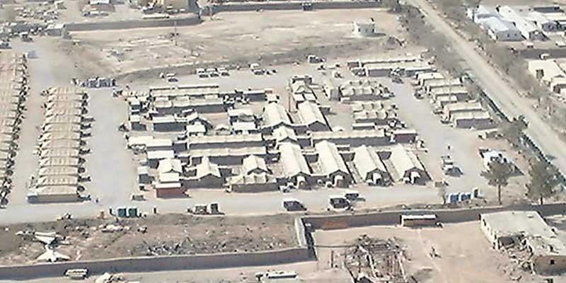 Afghanistan Bagram American Airbase - Plan Mühendislik Ticaret Limited Şirketi